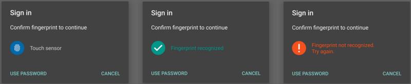 Android Fingerprint Authentication Using Titanium