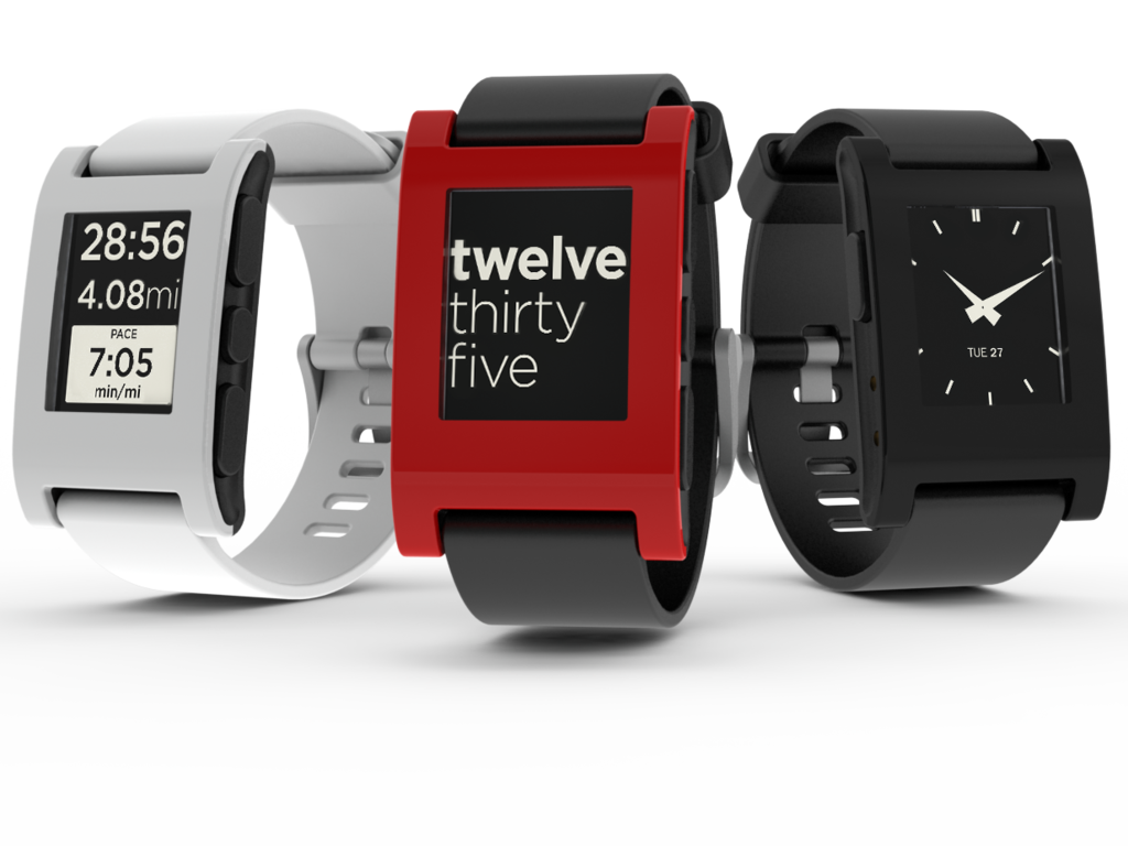 Pebble Watch multicolor