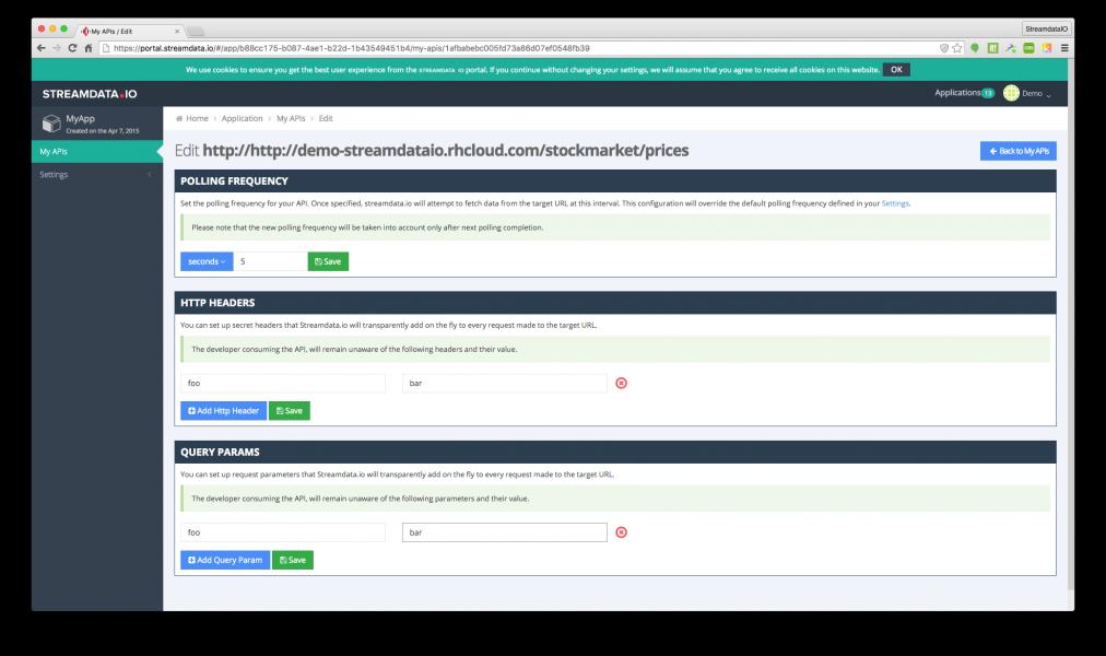 inject-query-params Streamdata.io