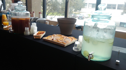 Food and drinks at BreizhCamp 2016