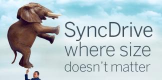 Sync Drive size