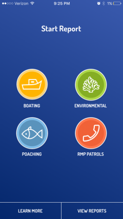 Roatan Marine Park app