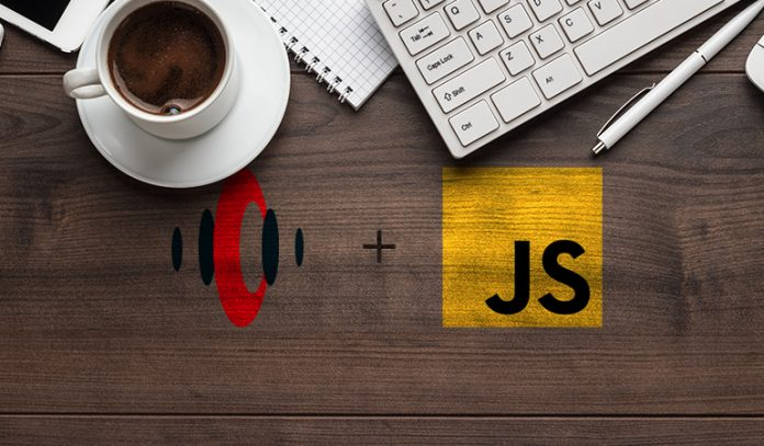 Streamdata.io and JS logo next to computer and coffee
