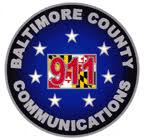 Real time 911 emergency data for Baltimore