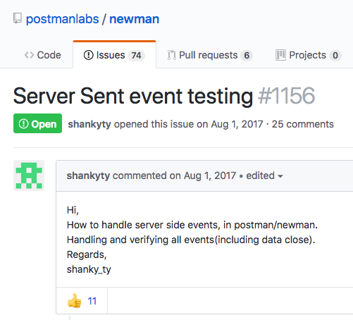 Postman For Server-Sent Event (SSE) APIs