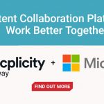 Content collaboration works better with Microsoft + Axway's Syncplicity