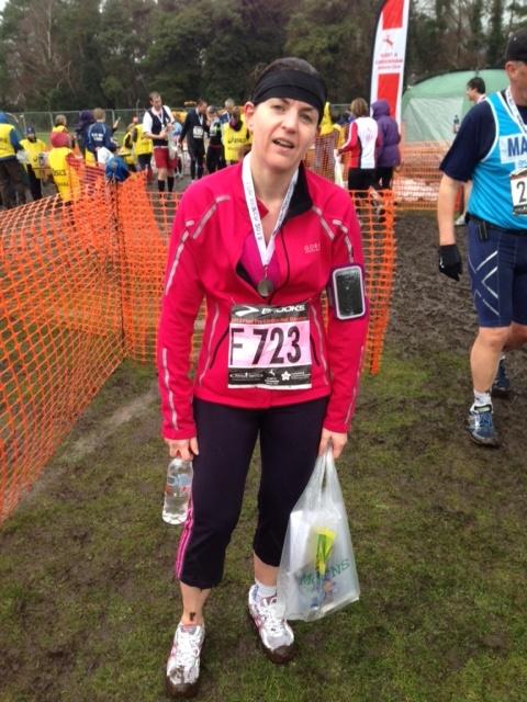 Lou England half marathon