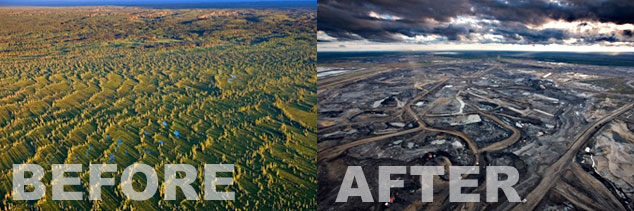 Strip mining impacts the environment in the same way that adopting microservices archtecture changes an organization