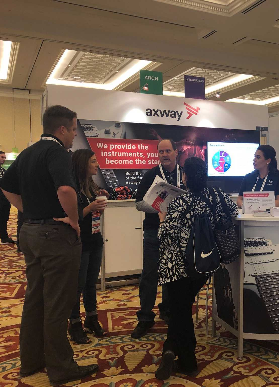 The Axway team at Gartner Application Strategies & Solutions Summit