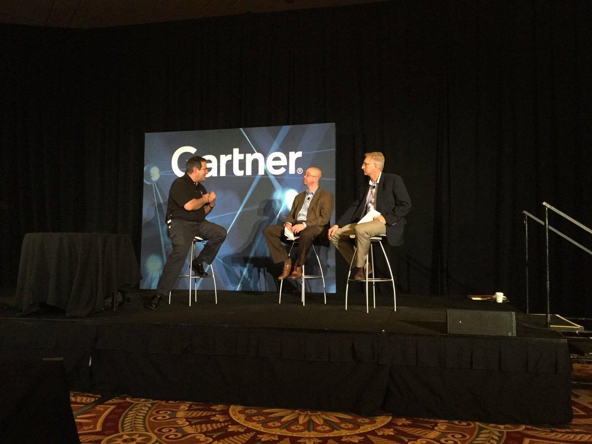 Gartner Applications Strategies Summit panel Dan Tortorici