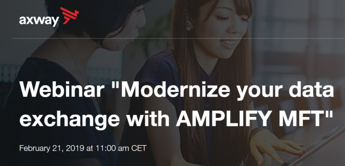 data exchanges with AMPLIFY MFT