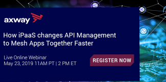 How iPaaS changes API Management to Mesh Apps Together Faster