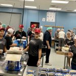 Axwegians come together for a great cause: Feed My Starving Children