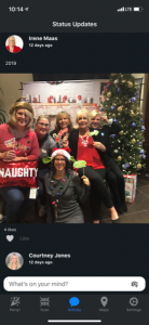 Axway holiday party app