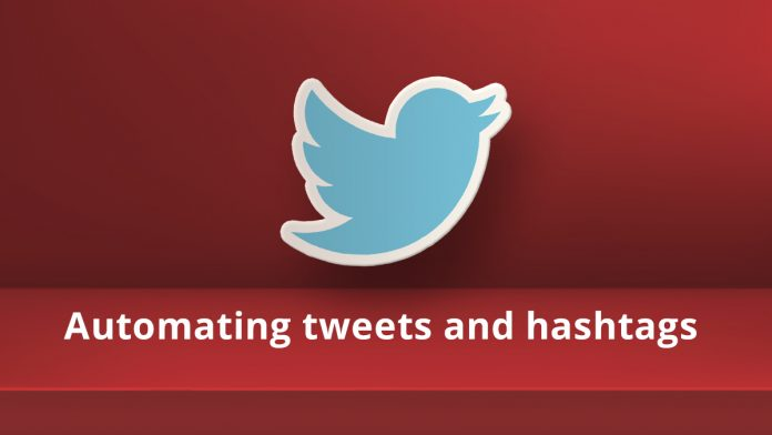 automating use of Twitter Tweets with Hashtags