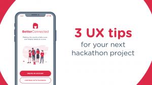 3 UX tips