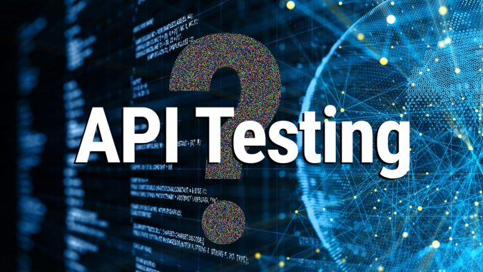 What is API testing