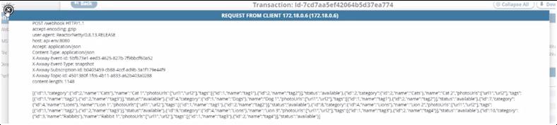 Gerenciamento de API baseado em eventos - captura de dados de mudança 14