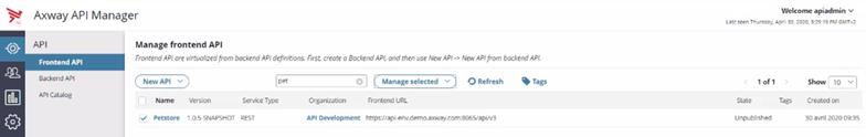 Gerenciamento de API baseado em eventos - captura de dados de mudança 5
