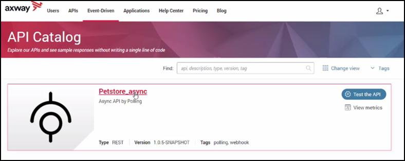Gerenciamento de API baseado em eventos - captura de dados de mudança 9