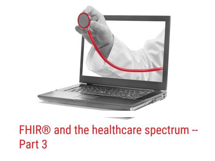 FHIR(R) and healthcare spectrum