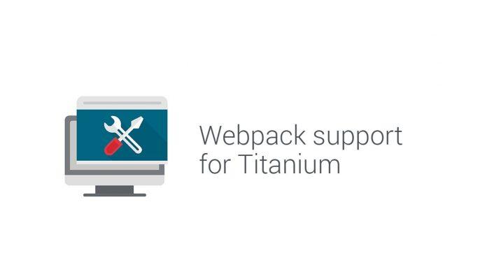 webpack support for Titanium