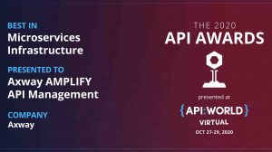 Axway wins Best in Microservices Infrastructure at API World 2020