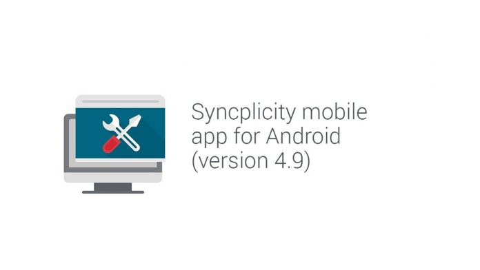 Syncplicity for Android mobile application