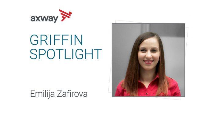 Griffin Spotlight: Emilija Zafirova