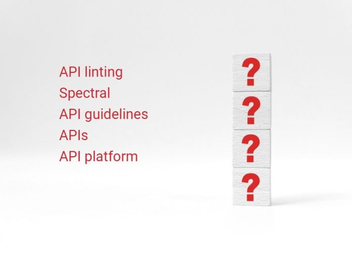 API linting with Spectral