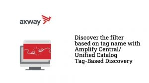 Amplify Central/Unified Catalog tag-based API Discovery