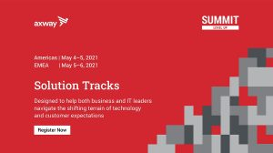 Axway Summit Solution Tracks