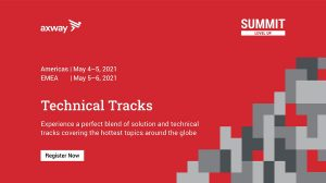 Axway Summit 2021 Technical Tracks