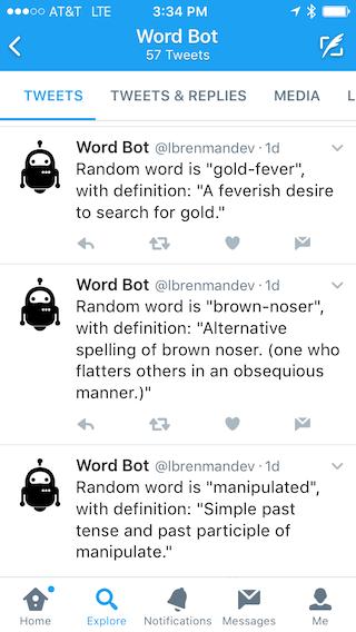 API Builder: Twitter Bot Example