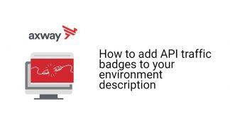 API traffic badges