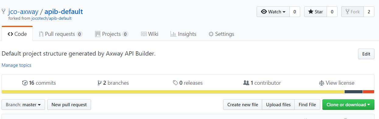 default project