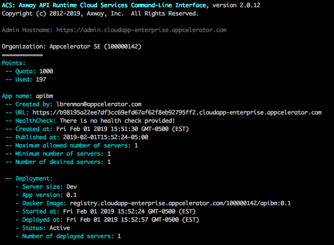 Publish Your API Builder Docker Image to the AMPLIFY Runtime