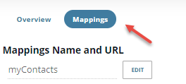 Click the Mappings button