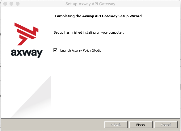 Complete Axway API Gateway Setup Wizard