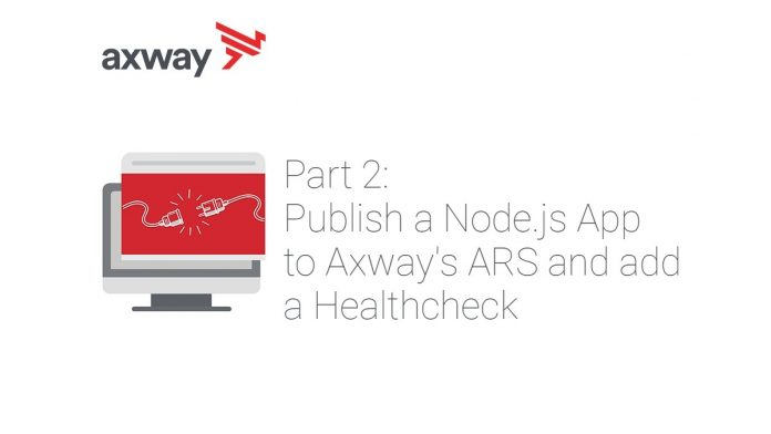 Publish a Node.js App to Axway's ARS