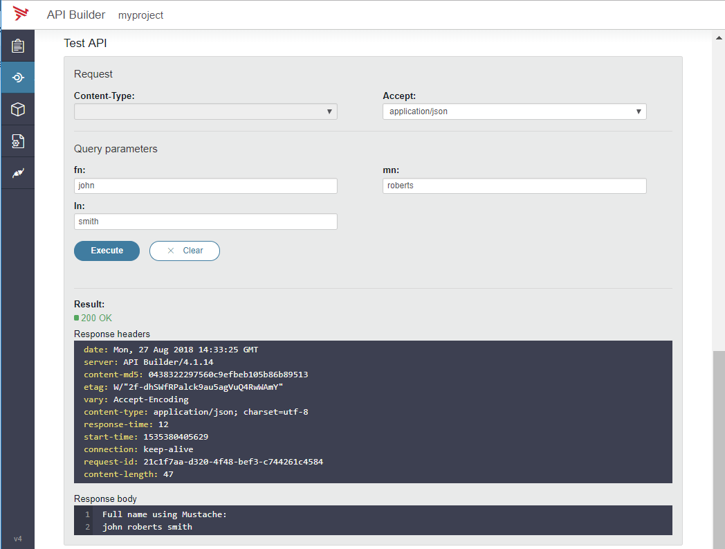 API Builder Standalone: Extend Flow Editor with Template Plugin