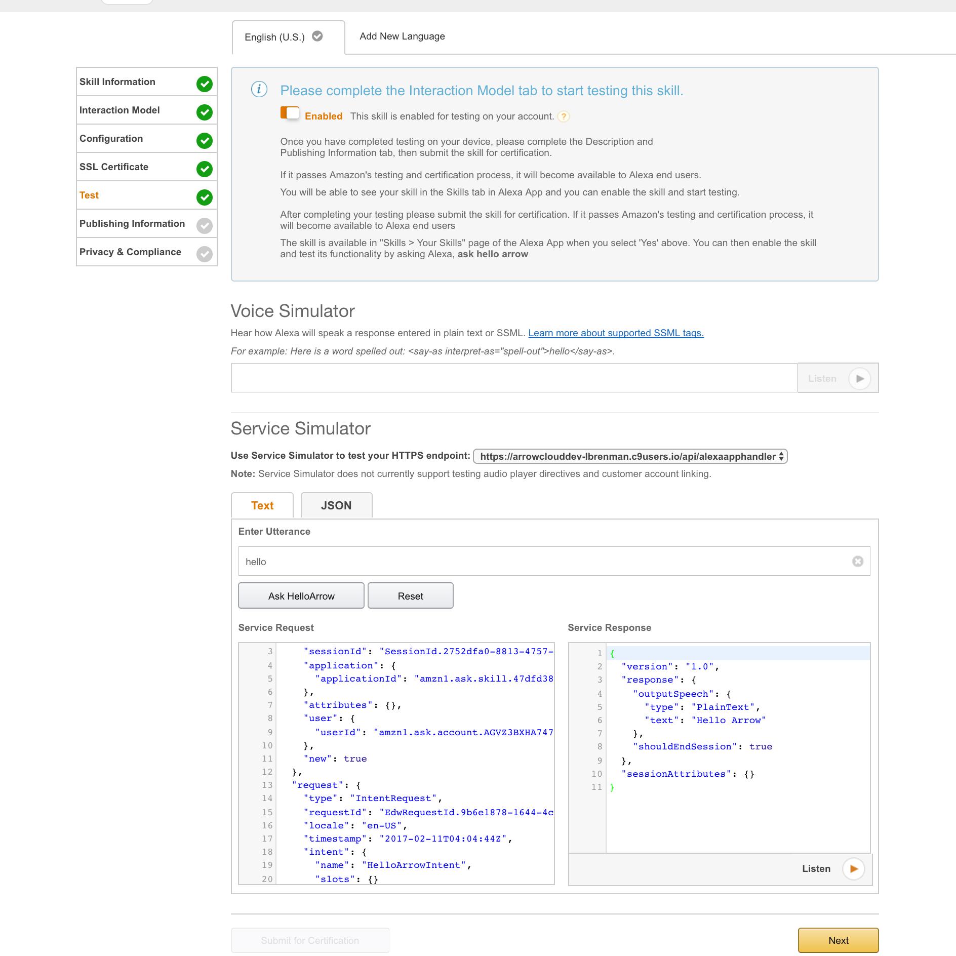 Host Your Alexa Skill Service on AMPLIFY using API Builder, Part 1