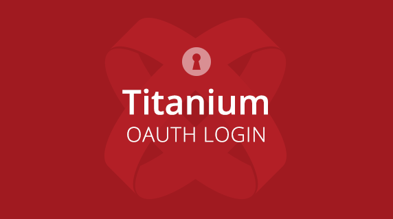 Titanium OAuth Login