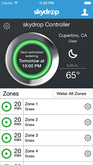 Skydrop Controller Zone