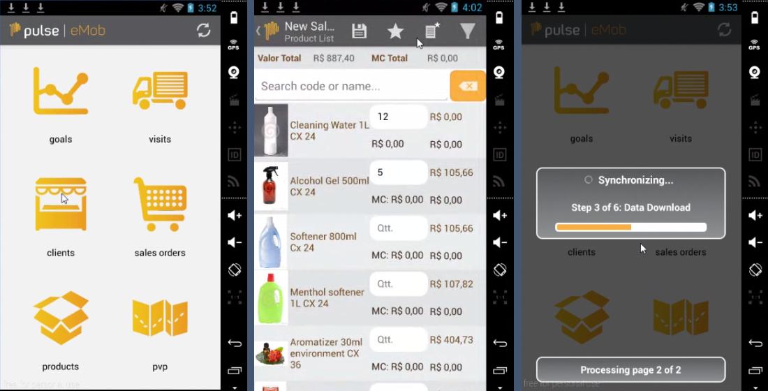 pulse-app-screenshots